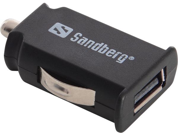 Sandberg Mini - Netzteil - Pkw - 2100 mA ( USB )
