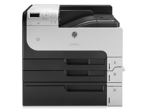 HP LaserJet Enterprise 700 Printer M712xh - Drucker - monochrom - Duplex - Laser - A3/Ledger