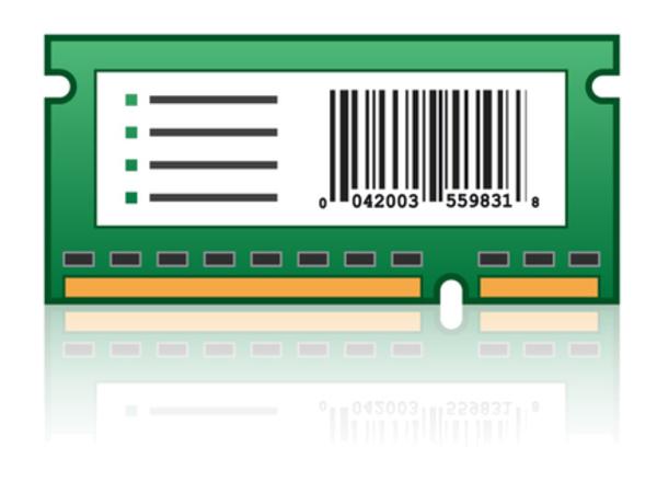 Lexmark Bar Code Card and Forms Card - ROM - Strichcode, Formulare - für Lexmark CX410de, CX410dte, CX410e, XC2130