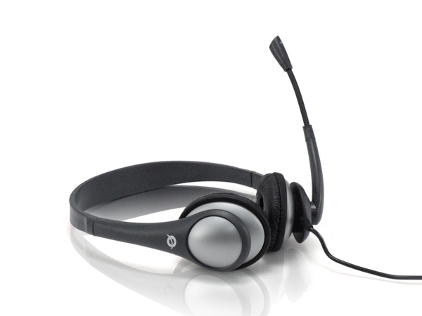 Conceptronic Lounge Collection CEASYSTAR Entry Level Headset - Headset - Full-Size - Grau