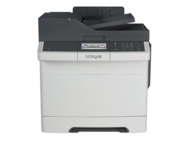 Lexmark CX410e - Multifunktionsdrucker - Farbe - Laser - Legal (216 x 356 mm) (Original) - Legal (Medien)