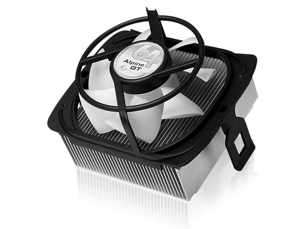 ARCTIC Alpine 64 GT - Prozessorkühler - ( Socket 754, Socket 939, Socket AM2, Socket AM2+, Socket AM3 ) - 80 mm