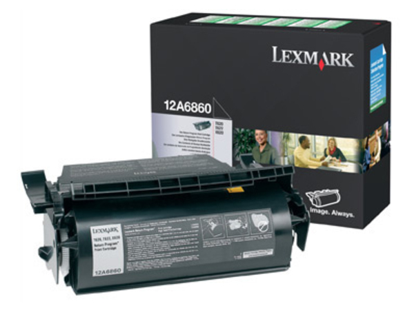 Lexmark - Schwarz - Original - Tonerpatrone LRP - für T620, 622; X620