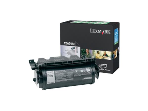 Lexmark - Schwarz - Original - Tonerpatrone LRP - für T630, 632, 634, 634dtn-32; X630, 632, 634