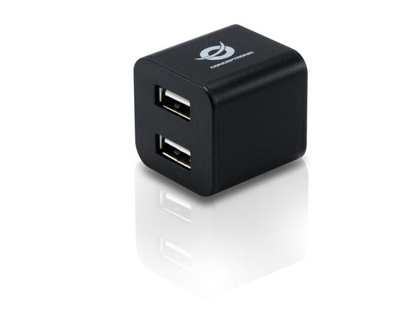 Conceptronic C4USB2CUBEB - Hub - 4 x USB 2.0 - Desktop