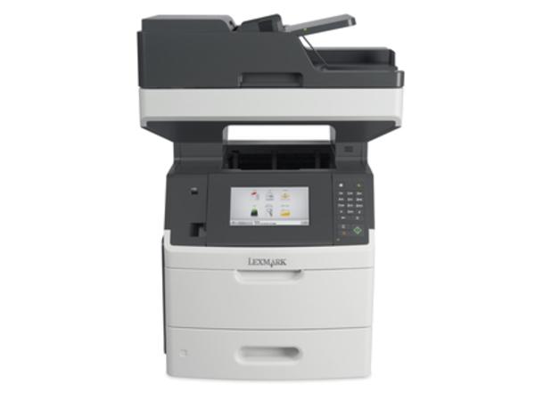 Lexmark MX710de - Multifunktionsdrucker - s/w - Laser - Legal (216 x 356 mm) (Original) - Legal (Medien)