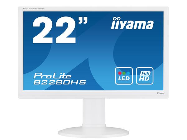 Iiyama ProLite B2280HS-1 - LED-Monitor - 55.9 cm (22