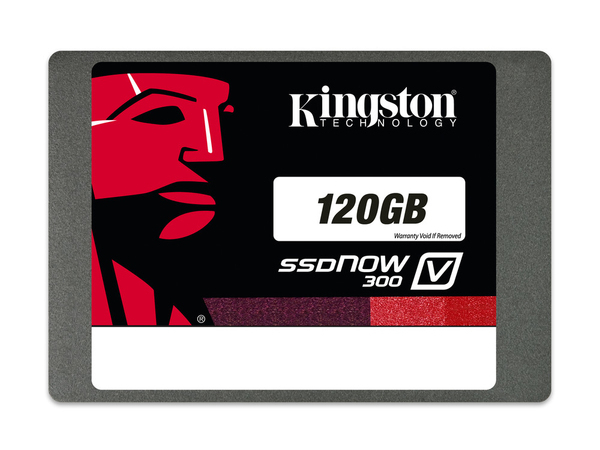 Kingston SSDNow V300 - Solid-State-Disk - 120 GB - intern - 6.4 cm (2.5