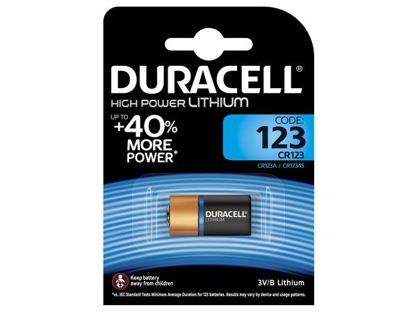 Duracell Ultra M3 123 - Kamerabatterie CR123 Li