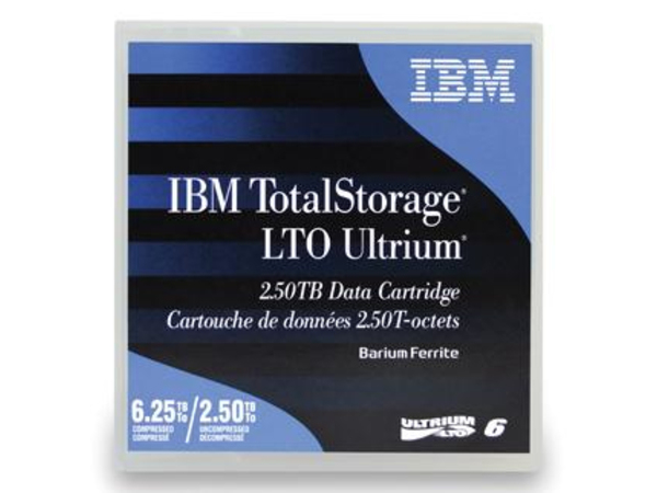 IBM TotalStorage - LTO Ultrium 6 - 2.5 TB / 6.25 TB