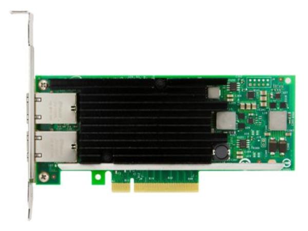 Intel X540-T2 - Netzwerkadapter - PCIe 2.0 x8 Low Profile - 10Gb Ethernet x 2 - für PRIMERGY CX2550 M1, RX2510 M2, RX2530 M2, RX2540 M2, RX4770 M3, RX600 S6, TX2560 M2