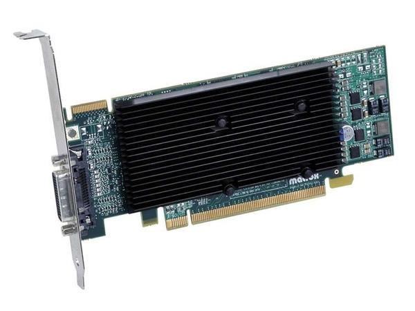 Matrox M9120 Plus - Grafikkarten - 512 MB DDR2 - PCIe x16 Low Profile