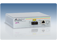 Allied Telesis AT PC232/POE - Medienkonverter - Fast Ethernet - 10Base-T, 100Base-FX, 100Base-TX - RJ-45 / SC multi-mode - bis zu 2 km