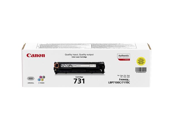 Canon 731 Y - Gelb - Original - Tonerpatrone - für i-SENSYS LBP7100Cn, LBP7110Cw, MF8230Cn, MF8280Cw 6269B002