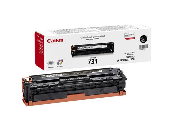 Canon 731 BK - Schwarz - Original - Tonerpatrone - für i-SENSYS LBP7100Cn, LBP7110Cw, MF8230Cn, MF8280Cw 6272B002