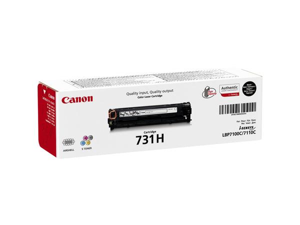 Canon 731 BK H - High Capacity - Schwarz - Original - Tonerpatrone - für i-SENSYS LBP7100Cn, LBP7110Cw, MF8230Cn, MF8280Cw 6273B002