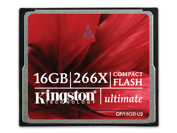 Kingston Ultimate - Flash-Speicherkarte - 16 GB - 266x - CompactFlash