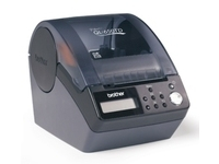 Brother QL-650TD - Etikettendrucker - Thermopapier - Rolle (6,2 cm) - 300 dpi - bis zu 90 mm/Sek.