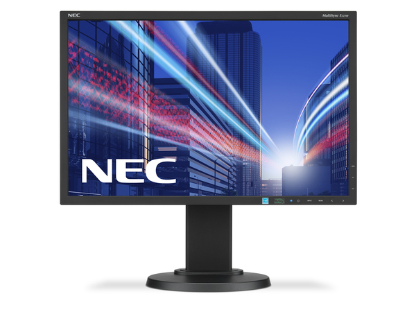 NEC MultiSync E223W - LED-Monitor - 55.9 cm (22