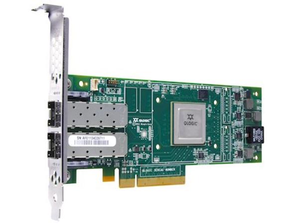 QLogic 16Gb FC Dual-Port HBA - Hostbus-Adapter - PCIe 3.0 x4 - 16Gb Fibre Channel x 2 - für System x3100 M5; x3250 M4; x35XX M4; x3650 M4 HD; x3690 X5; x36XX M3; x3755 M3; x3850 X5