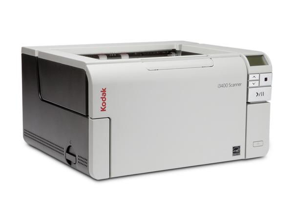 Kodak i3400 - Dokumentenscanner - Duplex - 304.8 x 4064 mm - 600 dpi x 600 dpi - bis zu 80 Seiten/Min. (einfarbig) / bis zu 80 Seiten/Min. (Farbe)