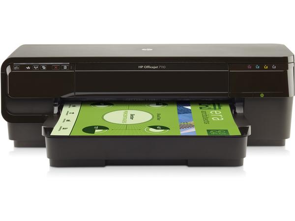 HP Officejet 7110 Wide Format ePrinter - Drucker - Farbe - Tintenstrahl - A3 - 600 x 1200 dpi