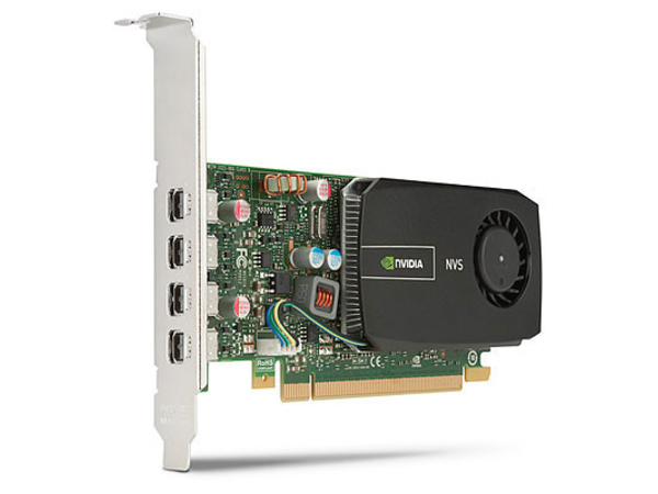 NVIDIA NVS 510 - Grafikkarten - NVS 510 - 2 GB DDR3 - PCIe 2.0 x16 Low Profile - 4 x Mini DisplayPort