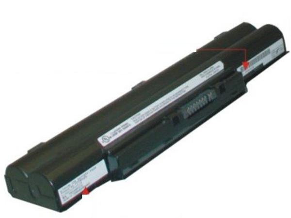 Fujitsu First Battery - Laptop-Batterie - 1 x 6 Zellen 6700 mAh - für LIFEBOOK E751, E752, E781, P772, S710, S751, S752, S760, S761, S781, S782