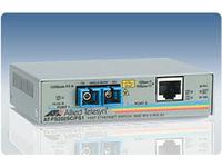 Allied Telesis AT FS202 - Medienkonverter - Fast Ethernet - 10Base-T, 100Base-FX, 100Base-TX - RJ-45 / SC multi-mode - bis zu 2 km
