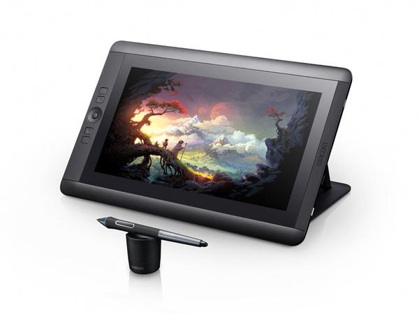 Wacom Cintiq 13HD - Digitalisierer mit LCD Anzeige - 29.9 x 17.1 cm - elektromagnetisch - 4 Tasten - verkabelt
