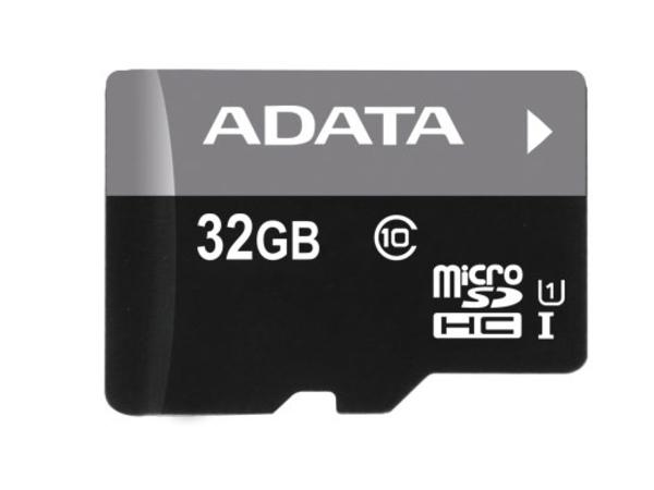ADATA microReader Ver.3 - Kartenleser (microSD, microSDHC) - UHS Class 1 / Class10 - USB 2.0 - mit 32-GB-microSDHC-UHS-I-Speicherkarte