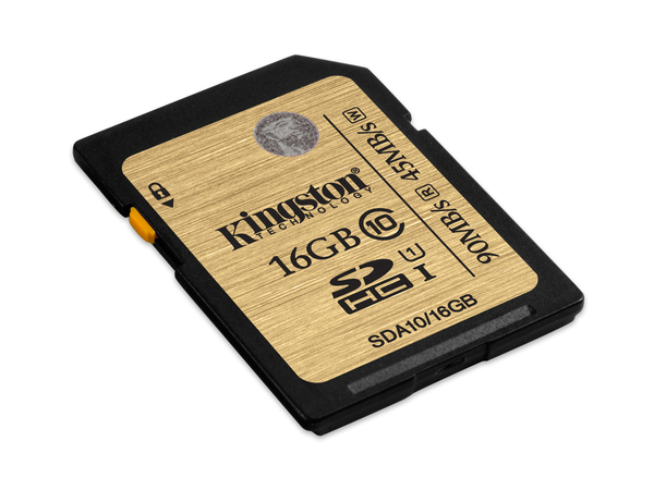 Kingston Ultimate - Flash-Speicherkarte - 16 GB - UHS Class 1 / Class10 - 233x - SDHC