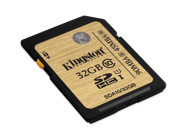 32GB SDHC CLASS 10 UHS-I