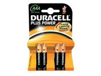 Duracell Plus Power MN2400 - Batterie 4 x AAA-Typ Alkalisch