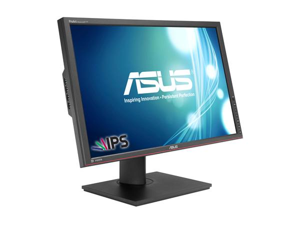 ASUS PA249Q, 61,2 cm (24.1 Zoll), 1920 x 1200 Pixel, LED, 6 ms, 350 cd/m², Schwarz