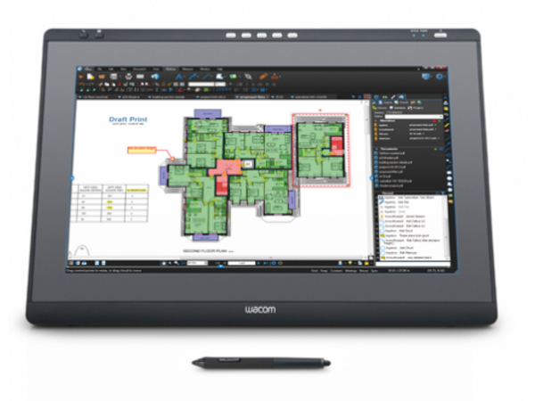 Wacom DTK-2241 - Digitalisierer mit LCD Anzeige - 47.52 x 26.73 cm - elektromagnetisch - drahtlos - USB