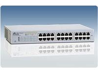 Allied Telesis AT FS724L - Switch - 24 x 10/100 - Desktop