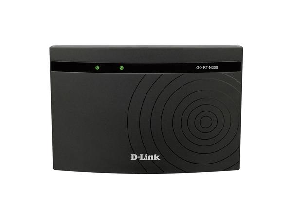 D-Link Wireless N GO-RT-N300 - Wireless Router - 4-Port-Switch - 802.11b/g/n