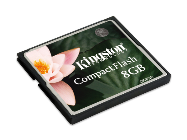 Kingston - Flash-Speicherkarte - 8 GB - CompactFlash
