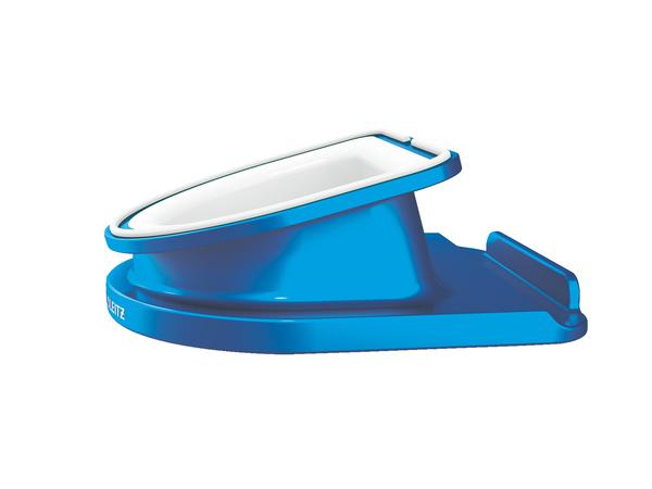 Leitz WOW - Schreibtischständer - blau-metallic
