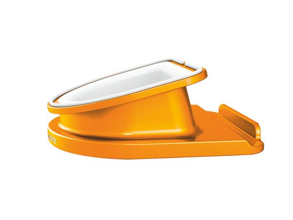 Leitz WOW - Schreibtischständer - Orange Metallic