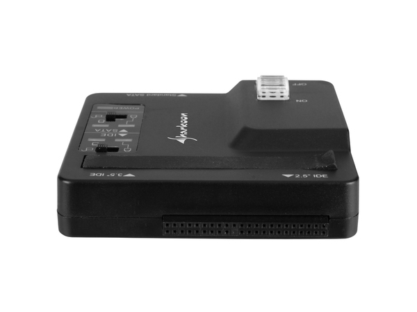 Sharkoon DriveLink Combo USB 3.0 - Speicher-Controller - 6.4 cm, 8.9 cm, 13.3 cm (2.5
