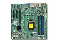 Supermicro X10SLM+-F, micro ATX, Intel, LGA 1150 (Socket H3), E3-1200, DDR3-SDRAM, 1600 MHz