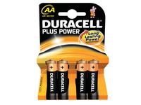 Duracell Plus Power MN1500 - Batterie 4 x AA-Typ Alkalisch