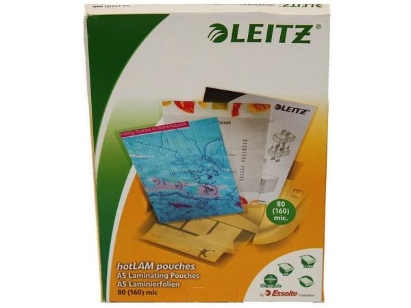 Leitz - 100 - A5 (148 x 210 mm) Taschen für Laminierung