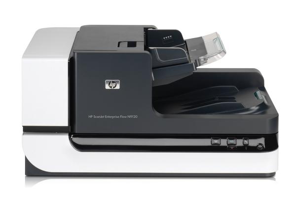 HP ScanJet Enterprise Flow N9120 Flatbed Scanner - Dokumentenscanner - Duplex - 300 x 864 mm - 600 dpi x 600 dpi - bis zu 50 Seiten/Min. (einfarbig) / bis zu 50 Seiten/Min. (Farbe)