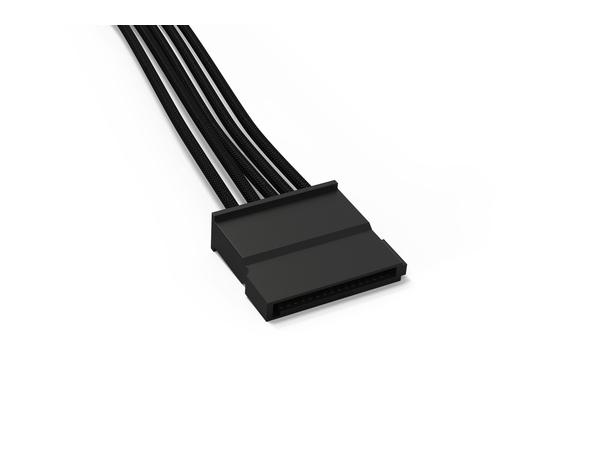 be quiet! S-ATA POWER CABLE CS-3310 - Stromkabel - SATA Leistung - 30 cm - Schwarz