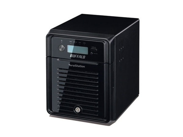 BUFFALO TeraStation 3400 - NAS-Server - 4 Schächte - 12 TB - SATA 3Gb/s - HDD 3 TB x 4