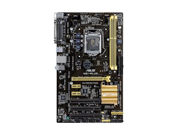 ASUS H81-PLUS - Motherboard - ATX - LGA1150-Sockel - H81 - USB 3.0