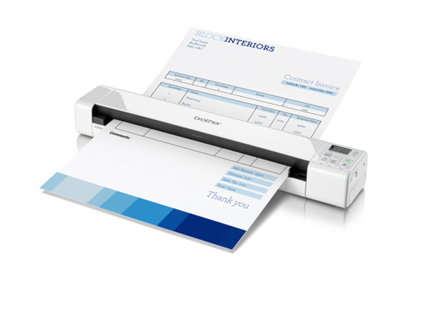 Brother DSmobile 820W - Einzelblatt-Scanner - 215.9 x 812.8 mm - 600 dpi x 600 dpi - USB 2.0, Wi-Fi(n)